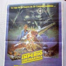 Cine: CARTEL DE CINE ORIGINAL EL IMPERIO CONTRAATACA, 1980 - LA GUERRA DE LAS GALAXIAS +FOTOGRAMA ORIGINAL. Lote 208839900