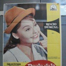 Cinema: CDO 3318 ROCIO DE LA MANCHA ROCIO DURCAL LUIS LUCIA POSTER ORIGINAL 70X100 ESTRENO. Lote 208856740