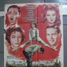 Cinema: CDO 3331 EL CERRO DE LOS LOCOS ANTONIO OZORES POSTER ORIGINAL 70X100 DEL ESTRENO. Lote 208864120