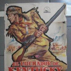 Cine: CDO 3333 EL LUCHADOR DE KENTUCKY JOHN WAYNE JANO POSTER ORIGINAL 70X100 ESTRENO. Lote 208865056