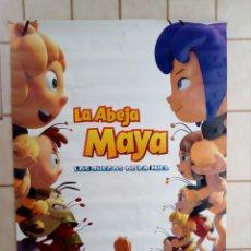 Cinema: CARTEL CINE LA ABEJA MAYA LOS JUEGOS DE LA MIEL - 98X68. Lote 208935196
