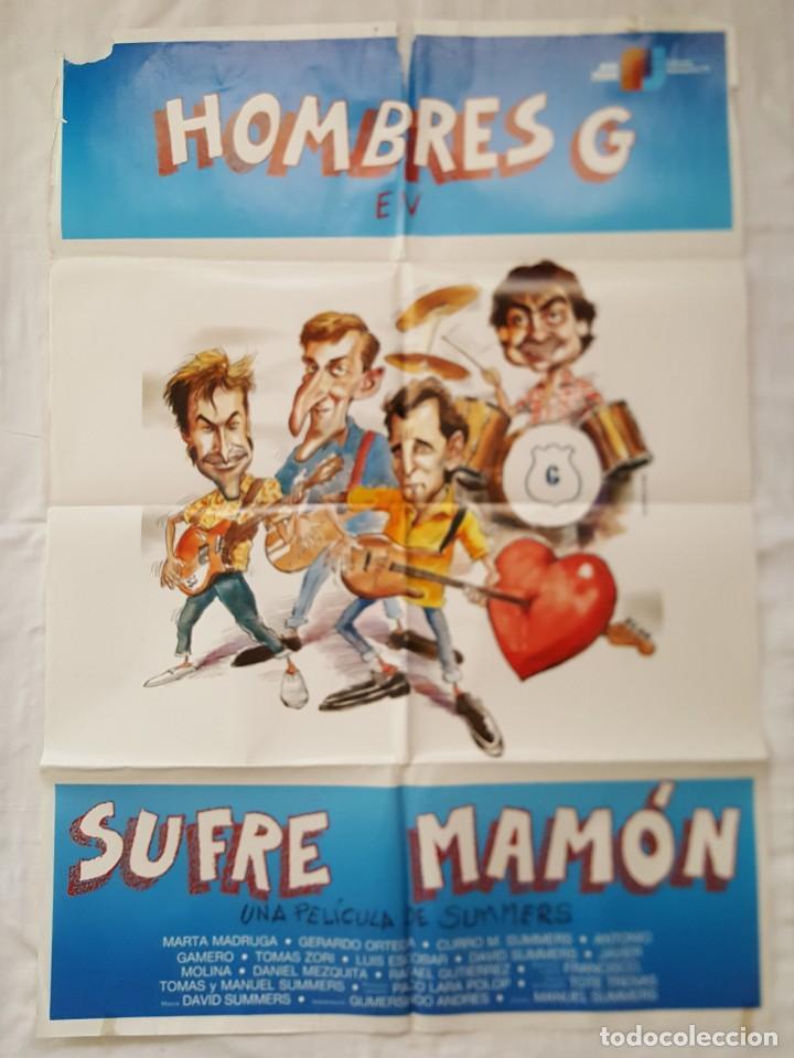 PÓSTER ORIGINAL SUFRE MAMÓN HOMBRES G (Cine - Posters y Carteles - Comedia)