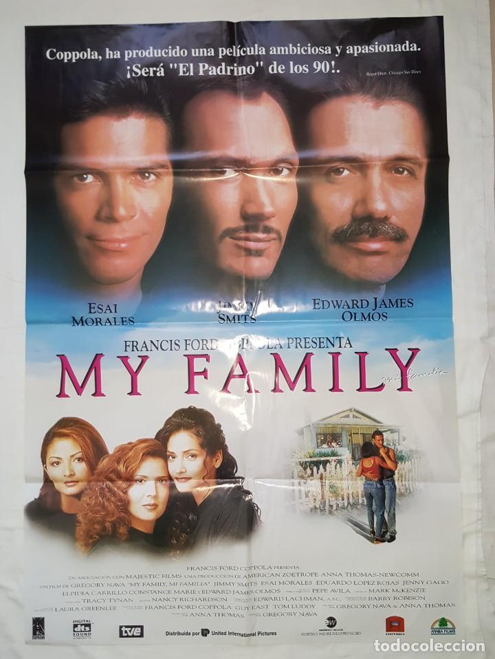 PÓSTER ORIGINAL MY FAMILY (Cine - Posters y Carteles - Acción)