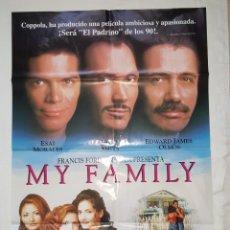 Cine: PÓSTER ORIGINAL MY FAMILY. Lote 208947280