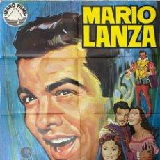 Cine: CARTEL DE CINE. EL GRAN CARUSO. MARIO LANZA. RICHARD THORPE. MEDIDAS 70 X 100 CM.. Lote 209110040