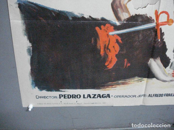 Cine: CDO 3360 APRENDIENDO A MORIR MANUEL BENITEZ EL CORDOBES LAZAGA TOROS POSTER ORIGINAL 70X100 ESTRENO - Foto 5 - 209110433