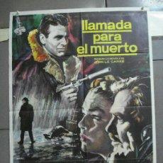 Cine: CDO 3375 LLAMADA PARA EL MUERTO JAMES MASON SIMONE SIGNORET MAC POSTER ORIGINAL 70X100 ESTRENO. Lote 209116225