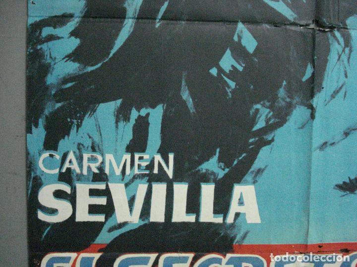 Cine: CDO 3391 EL SECRETO DE MONICA CARMEN SEVILLA POSTER ORIGINAL 70X100 ESTRENO - Foto 2 - 209118482