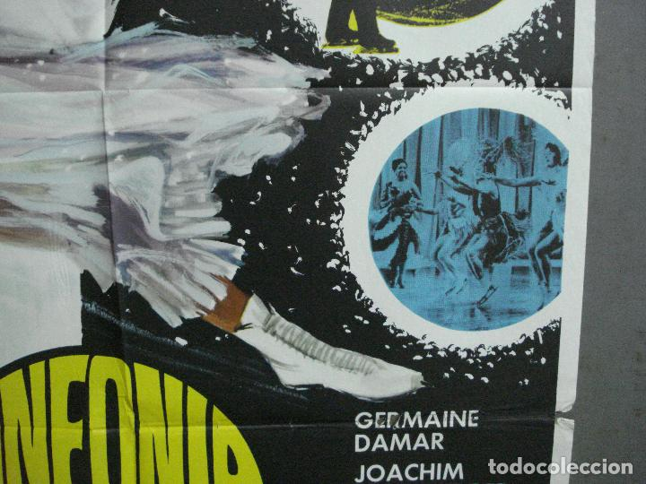 Cine: CDO 3398 SINFONIA EN ORO PATINAJE GERMAINE DAMAR JOACHIM FUCHSBERGER POSTER ORIGINAL 70X100 ESPAÑOL - Foto 8 - 209119863
