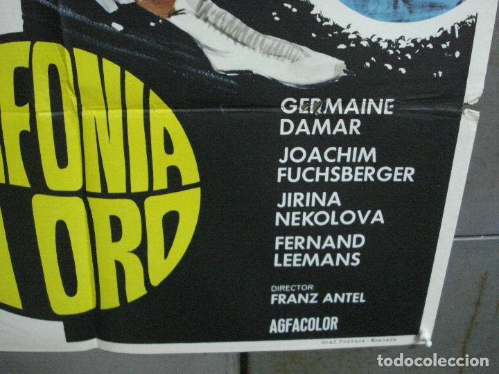 Cine: CDO 3398 SINFONIA EN ORO PATINAJE GERMAINE DAMAR JOACHIM FUCHSBERGER POSTER ORIGINAL 70X100 ESPAÑOL - Foto 9 - 209119863