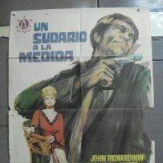 Cine: CDO 3401 UN SUDARIO A LA MEDIDA ANITA EKBERG JOSE MARIA ELORRIETA POSTER ORIGINAL 70X100 ESTRENO. Lote 209122180