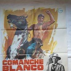 Cine: PÓSTER ORIGINAL COMANCHE BLANCO (1979). Lote 209143486