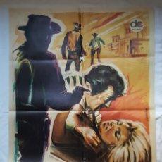 Cine: PÓSTER ORIGINAL FUERA DE LA LEY 1970 GEORGE MARTIN JACK TAYLOR LEON KLIMOWSKY. Lote 209145611
