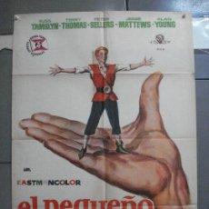 Cine: CDO 3450 EL PEQUEÑO GIGANTE TOM THUMB RUSS TAMBLYN GEORGE PAL JANO POSTER ORIGINAL 70X100 ESTRENO. Lote 209261940