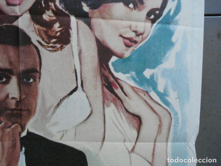 Cine: AAH75 AGENTE 007 CONTRA EL DR NO JAMES BOND SEAN CONNERY POSTER ORIGINAL 70X100 ESPAÑOL R-74 - Foto 7 - 209268092
