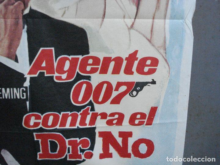 Cine: AAH75 AGENTE 007 CONTRA EL DR NO JAMES BOND SEAN CONNERY POSTER ORIGINAL 70X100 ESPAÑOL R-74 - Foto 8 - 209268092