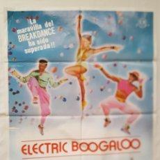 Cine: PÓSTER ORIGINAL ELECTRIC BOOGALOO. Lote 209349775