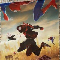Cine: PÓSTER ORIGINAL SPIDER-MAN UN NUEVO UNIVERSO. Lote 209353880