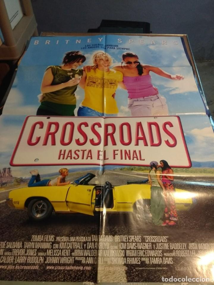 POSTER CINE : CROSSROADS ( BRITNEY SPEARS ) (Cine - Posters y Carteles - Musicales)