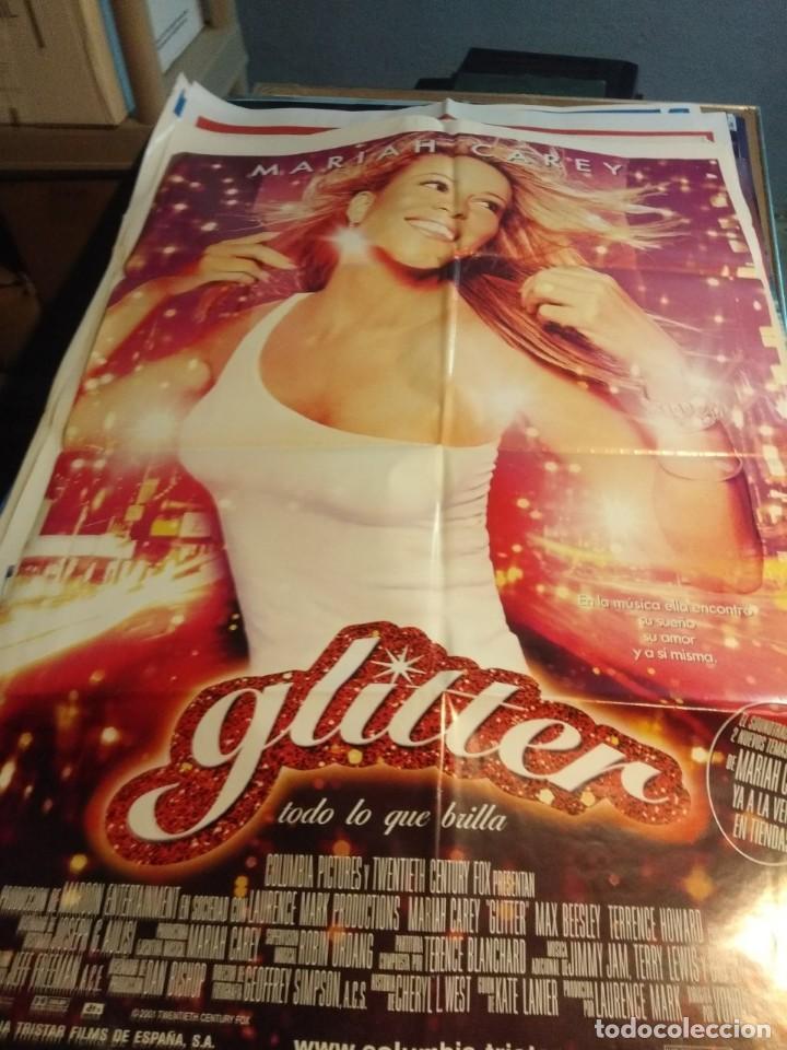 POSTER CINE : GLITTER, TODO LO QUE BRILLA ( MARIAH CAREY ) (Cine - Posters y Carteles - Musicales)