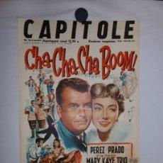 Cine: CHA CHA CHA BOOM - 1956 - 56 X 37. Lote 209404305