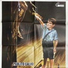 Cine: CARTEL ORIGINAL DE LA PELICULA MARCELINO PAN Y VINO. MEDIDAS APROX.: 100 X 70 CM. 1979.. Lote 209457630