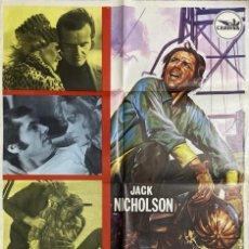 Cine: CARTEL ORIGINAL DE LA PELICULA MI VIDA ES MI VIDA. JACK NICHOLSON.MEDIDAS APROX.: 100 X 70 CM. 1971.. Lote 209563348