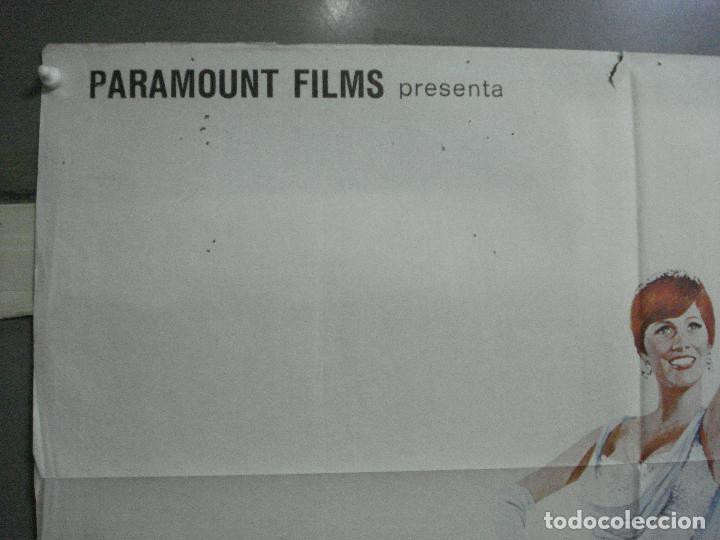 Cine: CDO 3481 DARLING LILI JULIE ANDREWS ROCK HUDSON POSTER ORIGINAL 70X100 ESTRENO - Foto 2 - 209602690