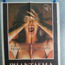 Cinema: PHANTASMA.A. MICHAEL BALDWIN, ANGUS SCRIMM, BILL THORNBURY. AÑO 1979. POSTER ORIGINAL. Lote 209605526