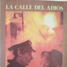 Cine: LA CALLE DEL ADIOS HARRISON FORD LESLEY-ANNE DOWN POSTER ORIGINAL 95X65. Lote 209640435