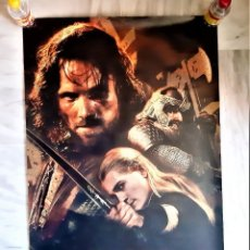 Cine: THE LORD OF THE RINGS THE TWO TOWERS POSTER CARTEL CINE - 90 X 64,CM. Lote 209687381