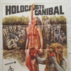 Cine: PÓSTER ORIGINAL HOLOCAUSTO CANÍBAL (1980). Lote 209694653