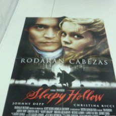 Cine: 1X2 POSTERS CINE SLEEPY HOLLOW - JUANA DE ARCO M.41X58 VER FOTOS. Lote 209863325