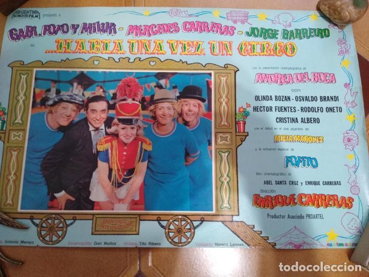 GABI FOFO Y MILIKI AFICHE DE CINE HABÍA UNA VEZ UN CIRCO -ARGENTINA (Cine - Posters y Carteles - Infantil)