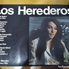 Cine: AFICHE DE CINE FILM LOS HEREDEROS 1970 DE DAVID STIVEL-ARGENTINA-BARBARA MUJICA. Lote 209921020