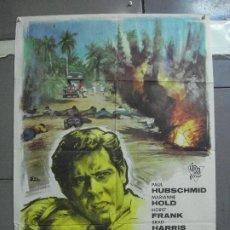 Cine: CDO 3550 EL INFIERNO DE MEKONG PAUL HUBSCHMID MARIANNE HOLD BRAD HARRIS POSTER ORIG 70X100 ESTRENO. Lote 209953205