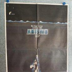 Cinema: ABISMO, THE DEEP . JACQUELINE BISSET, NICK NOLTE, ROBERT SHAW. AÑO 1977. POSTER ORIGINAL. Lote 209954513