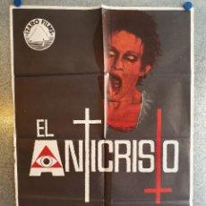 Cine: EL ANTICRISTO.CARLA GRAVINA, MEL FERRER, ARTHUR KENNEDY, GEORGE COULOURIS. AÑO 1975. POSTER ORIGINAL. Lote 209962447