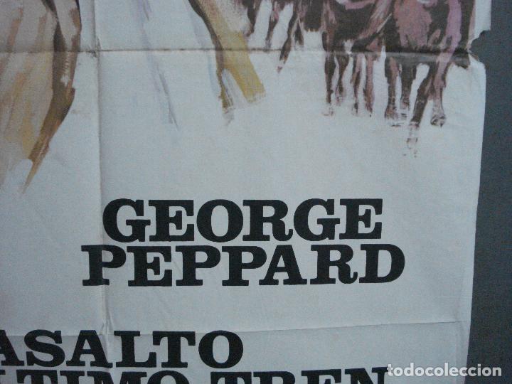 Cine: CDO 3551 ASALTO AL ULTIMO TREN GEORGE PEPPARD MCP POSTER ORIGINAL 70X100 ESTRENO - Foto 8 - 210011073