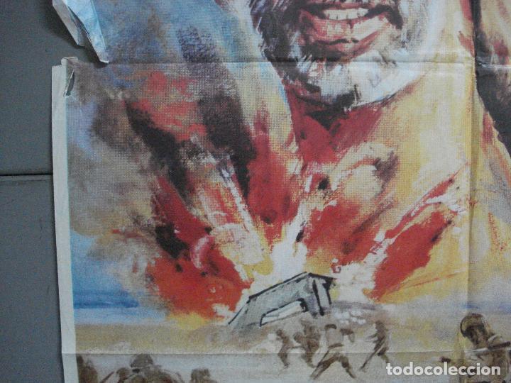 Cine: CDO 3556 INFIERNO EN EL PACIFICO LEE MARVIN TOSHIRO MIFUNE POSTER ORIGINAL 70X100 ESTRENO - Foto 4 - 210012276