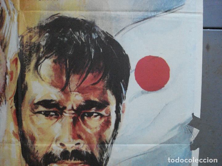 Cine: CDO 3556 INFIERNO EN EL PACIFICO LEE MARVIN TOSHIRO MIFUNE POSTER ORIGINAL 70X100 ESTRENO - Foto 7 - 210012276
