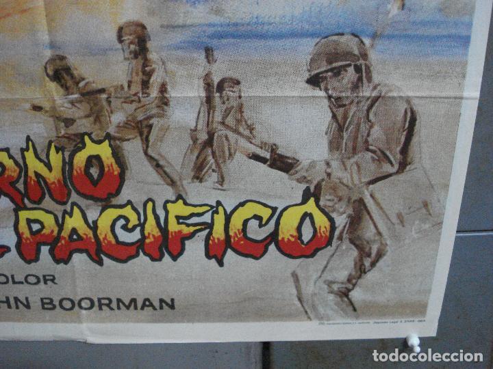 Cine: CDO 3556 INFIERNO EN EL PACIFICO LEE MARVIN TOSHIRO MIFUNE POSTER ORIGINAL 70X100 ESTRENO - Foto 9 - 210012276