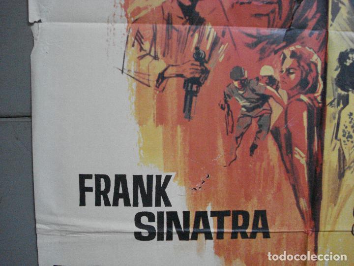 Cine: CDO 3557 TODOS ERAN VALIENTES FRANK SINATRA CLINT WALKER JANO POSTER ORIGINAL 70X100 ESTRENO - Foto 4 - 210012501