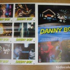 Cine: DANNY BOY - 6 FOTOCROMOS Y POSTER CARTEL ORIGINALES DEL ESTRENO JOHN BOORMAN STEPHEN REA. Lote 210042938