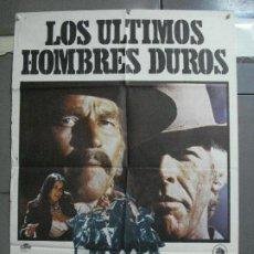 Cine: CDO 3595 LOS ULTIMOS HOMBRES DUROS CHARLTON HESTON JAMES COBURN POSTER ORIGINAL 70X100 ESTRENO. Lote 210044280