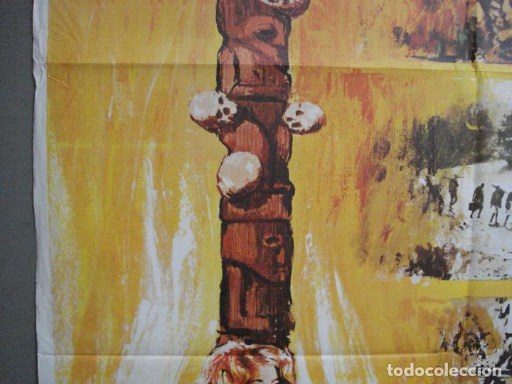Cine: CDO 3598 TAMBORES DE AFRICA FRANKIE AVALON Hefe POSTER ORIGINAL 70X100 ESTRENO - Foto 3 - 210046470