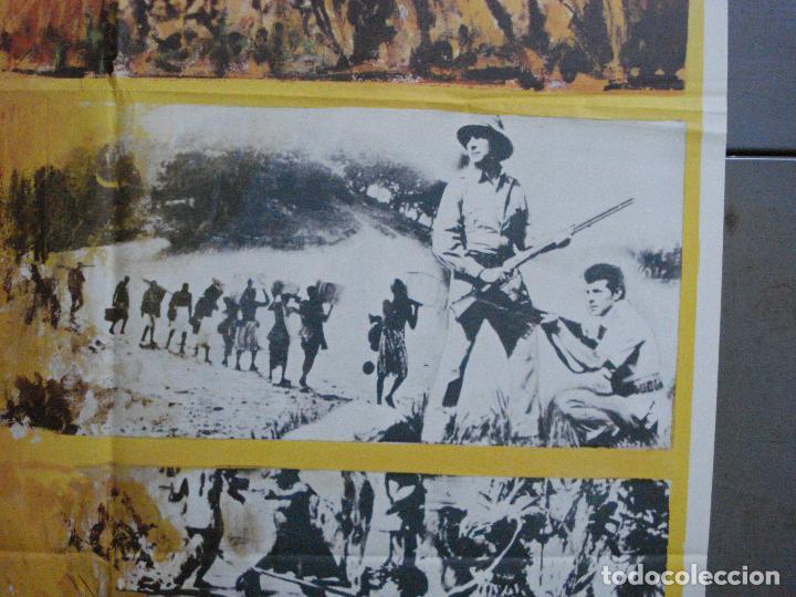 Cine: CDO 3598 TAMBORES DE AFRICA FRANKIE AVALON Hefe POSTER ORIGINAL 70X100 ESTRENO - Foto 7 - 210046470