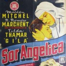 Cine: SOR ANGELICA, MARION MITCHEL, TILDA THAMAR, GILA, AÑO 1954, VICIANO, LITOGRAFIA. Lote 210075257