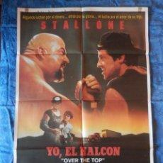 Cine: POSTER ORIGINAL: YO, EL HALCON DE 70 X 100. Lote 210081710