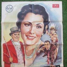 Cine: CARTEL CINE ¡ VIVA LO IMPOSIBLE ! PAQUITA RICO MANOLO MORAN SOLIGO 1960 C1905. Lote 210090636
